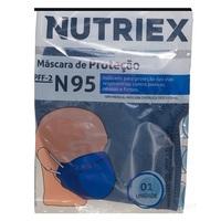 Máscara de Proteção Nutriex PPF-2 N95 azul com 1 unidade