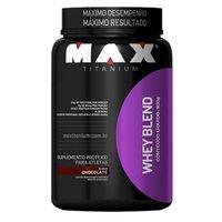 Whey Blend Max Titanium - chocolate, 900g