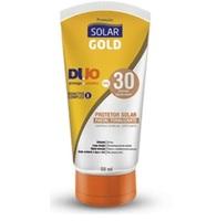 Protetor Solar Facial Gold FPS 30, com cor, 50mL