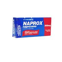 500mg, caixa com 20 comprimidos