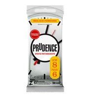 Preservativo Prudence efeito retardante, leve 8 pague 6