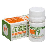 Complexo Homeopático Almeida Prado Nº 11 frasco com 60 comprimidos