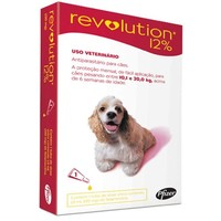 Antipulgas Revolution 12% 10,1Kg até 20Kg, 120mg, pipeta com 1,0mL