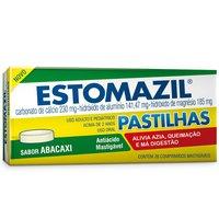 blíster com 20 comprimidos mastigáveis, abacaxi