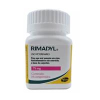 Rimadyl 75mg, frasco com 14 comprimidos