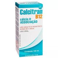 Calcitran B12 frasco com 150mL de solução de uso oral