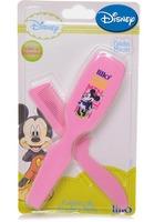 Minnie, escova + pente, rosa, ref.300930