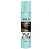 Spray Retoque de Raiz L'Oréal Magic Retouch Castanho Escuro, 75mL