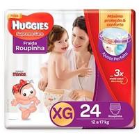 Fralda Roupinha Huggies Supreme Care XG, 24 unidades