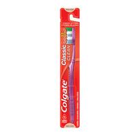 Escova Dental Colgate Classic macia, lilás com 1 unidade