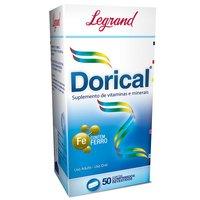 Dorical Legrand caixa com 50 comprimidos revestidos
