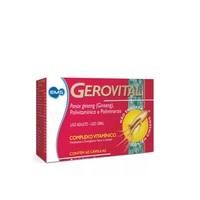 Gerovital caixa com 60 cápsulas gelatinosas moles