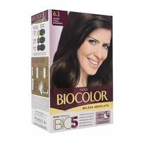 Tintura Biocolor Beleza Absoluta N° 6.1 Louro Cinza Moderno