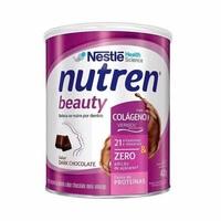 Nutren Beauty frasco com 400g de pó para solução de uso oral, sabor chocolate