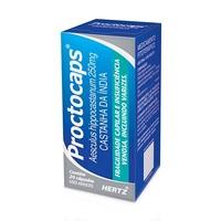 Proctocaps 250mg, caixa com 20 cápsulas duras