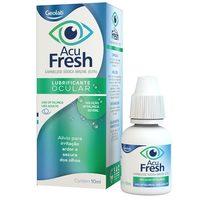 Acu Fresh 5mg/mL, caixa com 1 frasco gotejador com 10mL de solução de uso oftálmico