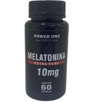 Melatonina Power One 10mg, frasco com 60 cápsulas