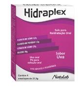 Hidraplex 4 envelopes com 27,9g de pó para solução de uso oral, sabor uva