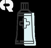 Ktriz Uno 0,6U/g, caixa com 1 bisnaga com 10g de pomada de uso dermatológica + espátula