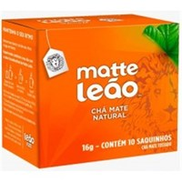Chá Matte Leão - natural, 10 sachês