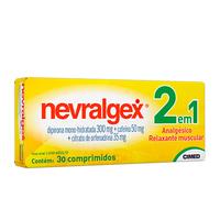 300mg + 50mg + 35mg, caixa com 30 comprimidos