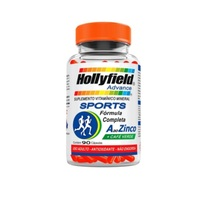 A ao Zinco Hollyfield Sports 700mg, frasco com 90 cápsulas