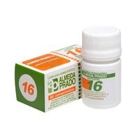 Complexo Homeopático Almeida Prado Nº 16 caixa com 60 comprimidos