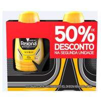 Desodorante Masculino Rexona Motionsense V8, roll-on, 50mL, 2 unidades