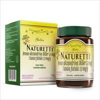 Naturetti 5,8mg/g + 3,9mg/g, caixa com 1 frasco com 130g de geleia de uso oral