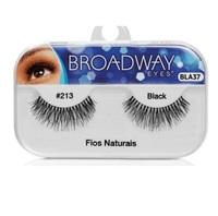 Cílios Postiços Kiss New York Broadway Eyes fios naturais, 1 par, ref.213