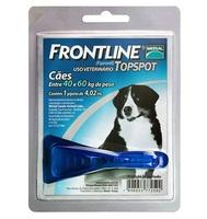 Frontline Topspot para Cães acima de 40kg com 1 pipeta de 4,02mL