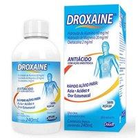 Droxaíne 60mg/mL + 20mg/mL + 2mg/mL, caixa com 1 frasco com 240mL de suspensão de uso oral