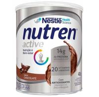Suplemento Alimentar Nutren Active chocolate, lata, 1 unidade com 400g