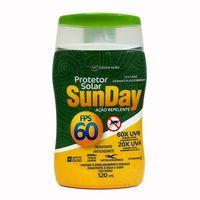 Protetor Solar com Repelente Nutriex Sunday FPS 60, 120mL