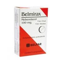 Belmirax 100mg, caixa com 6 comprimidos