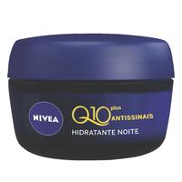 Creme Hidratante Facial Nivea Q10 Plus Antissinais Noturno - 49g