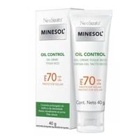 Protetor Solar Facial NeoStrata Minesol Oil Control sem cor, FPS 70 com 40g