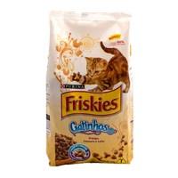 Ração para Gatos Friskies Gatinhos Frango, Cenoura e Leite, 1kg