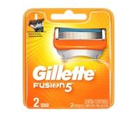 Carga Gillette Fusion5 2 unidades