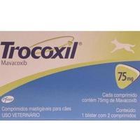 Trocoxil 75mg, blister com 2 comprimidos
