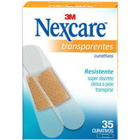 Curativo Nexcare Transparente 35 unidades