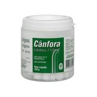 Cânfora 712mg, caixa com 150g de tabletes de uso dermatológico