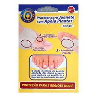 Protetor de Joanete Ortho Pauher com apoio plantar, 1 par