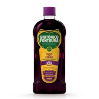 Biotônico Fontoura 400mL de solução de uso oral, uva