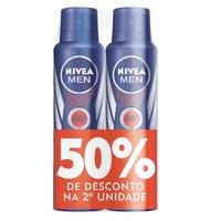 aerosol com 150mL + 50% de desconto na 2º unidade