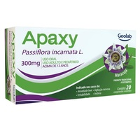 Apaxy 300mg, caixa com 20 comprimidos revestidos