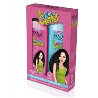 Kit Skala #MaisCachos shampoo, 350mL + condicionador, 350mL
