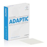 Curativo Systagenix Adaptic Malha Não Aderente 7,6cm x 20,3cm, 3 unidades