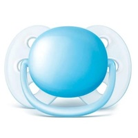 Chupeta Avent Ultra Soft - 6+ meses, azul, 1 unidade