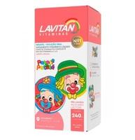 Lavitan Kids laranja, frasco com 240mL
